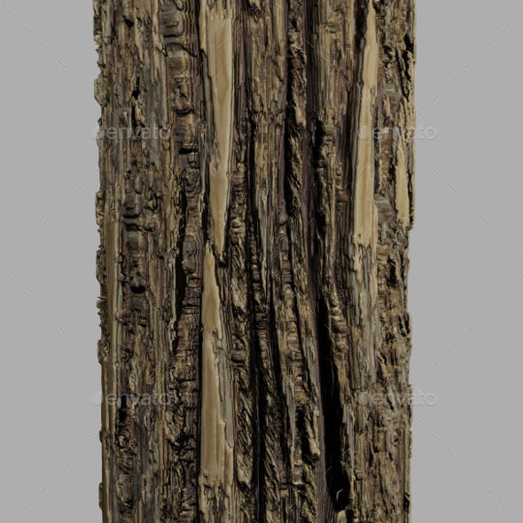 Tree Bark Textures - 3DOcean Item for Sale