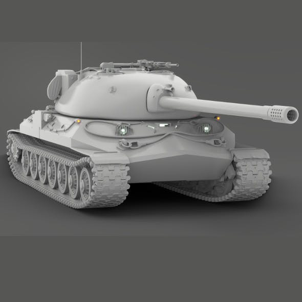 Tank IS-7 - 3DOcean Item for Sale