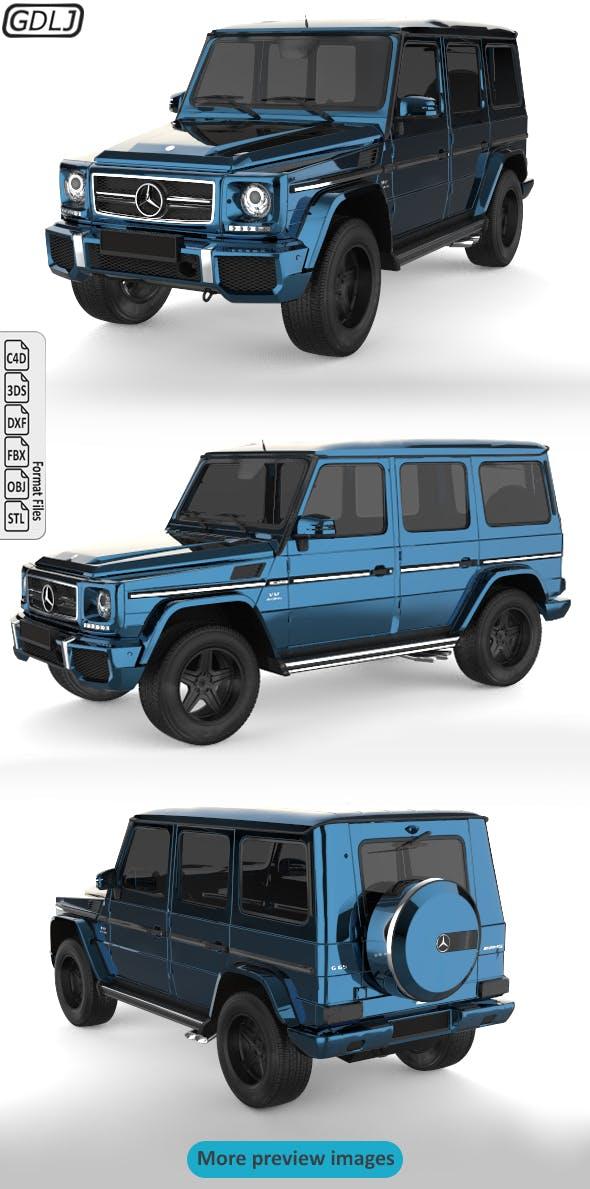 Mercedes Benz G Class - 3DOcean Item for Sale