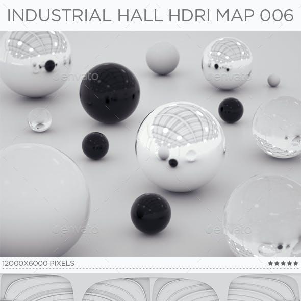 Industrial Hall HDRi Map 006