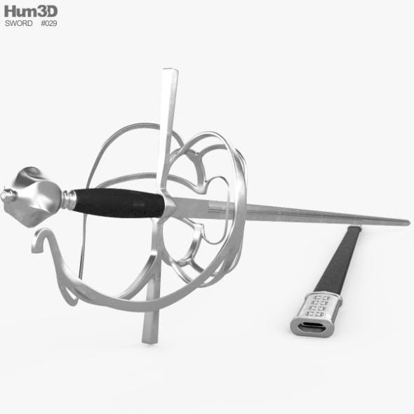 Rapier - 3DOcean Item for Sale