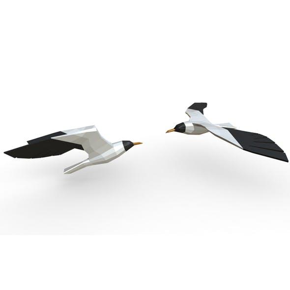 seagulls figure - 3DOcean Item for Sale