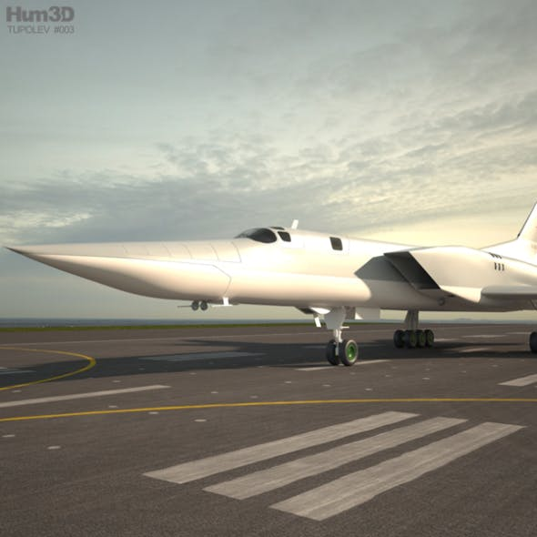 Tupolev Tu-22M - 3DOcean Item for Sale