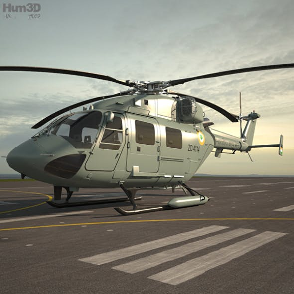 HAL Dhruv - 3DOcean Item for Sale