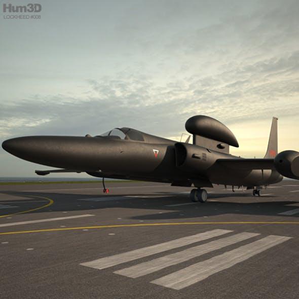 Lockheed U-2S - 3DOcean Item for Sale