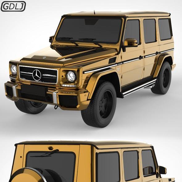Mercedes-Benz G-Class Golden