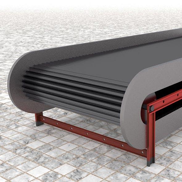 Belt Conveyor - 3DOcean Item for Sale