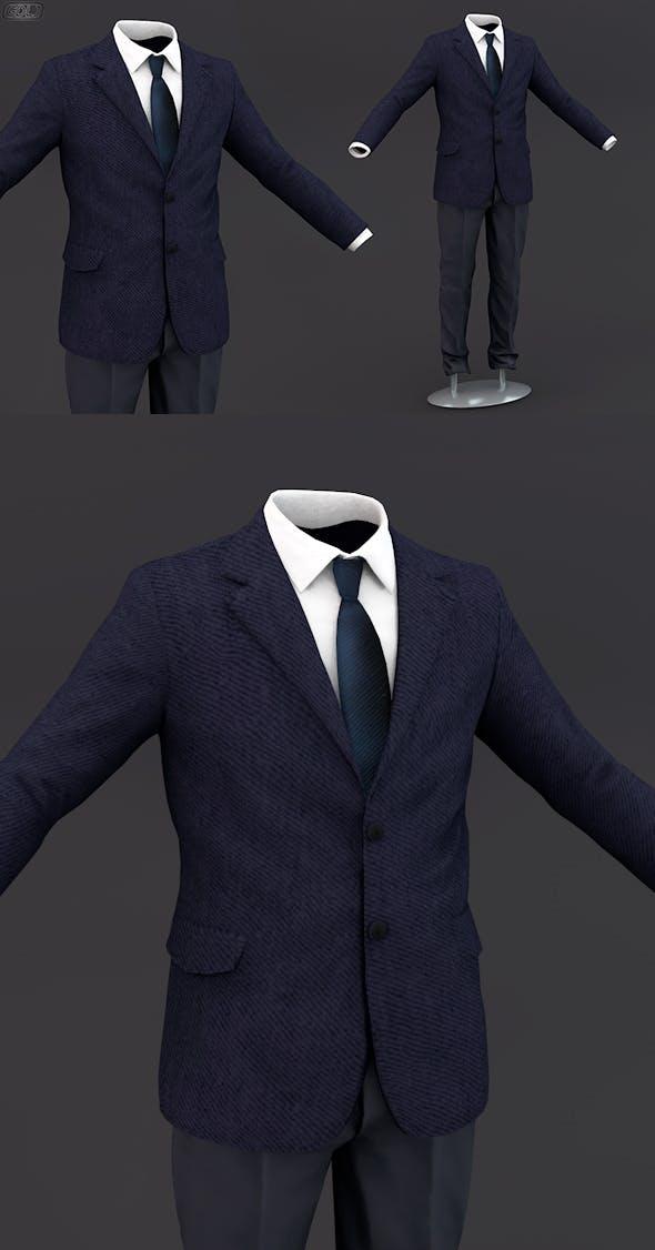Men suit 12 - 3DOcean Item for Sale