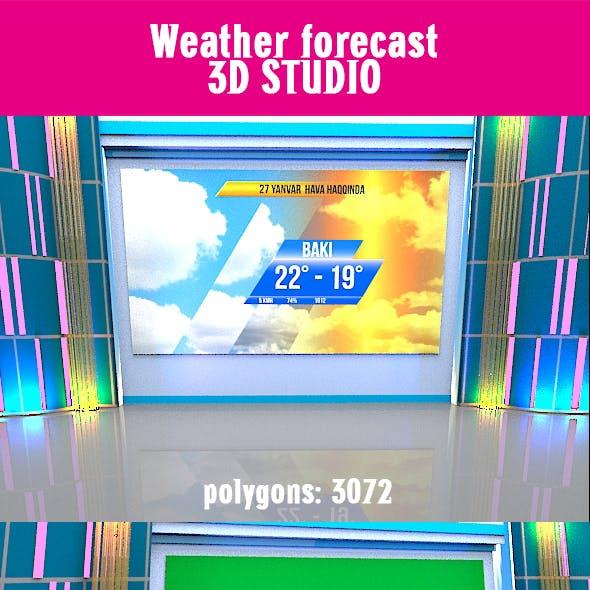 Weather forecast 3D STUDIO