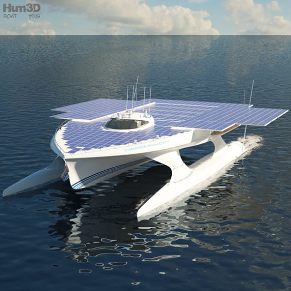MS Turanor PlanetSolar - 3DOcean Item for Sale