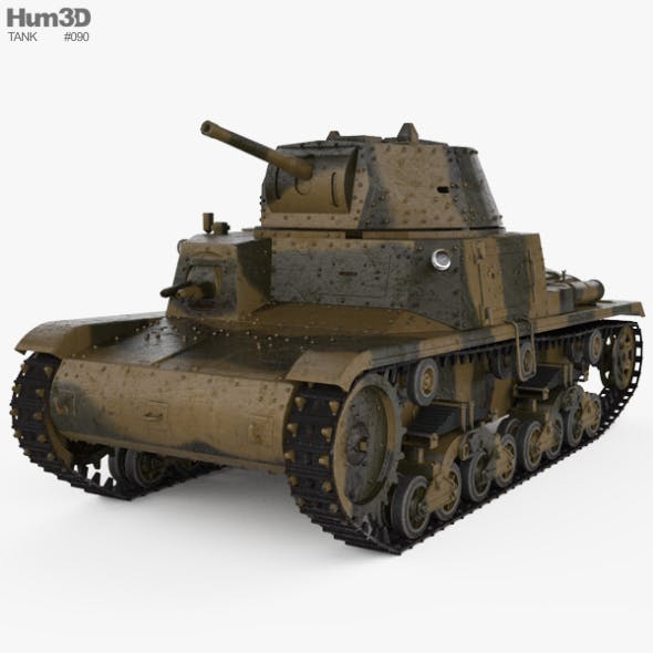 Fiat M13/40 - 3DOcean Item for Sale