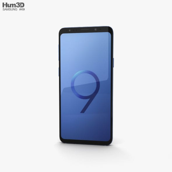 Samsung Galaxy S9 Plus Coral Blue - 3DOcean Item for Sale