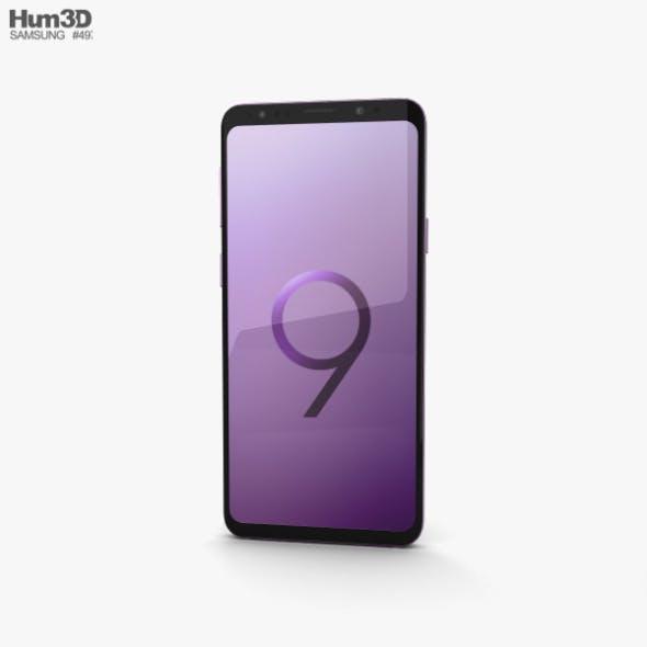 Samsung Galaxy S9 Plus Lilac Purple - 3DOcean Item for Sale