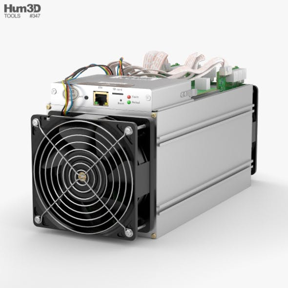 Antminer Cryptocurrency Mining Hardware - 3DOcean Item for Sale