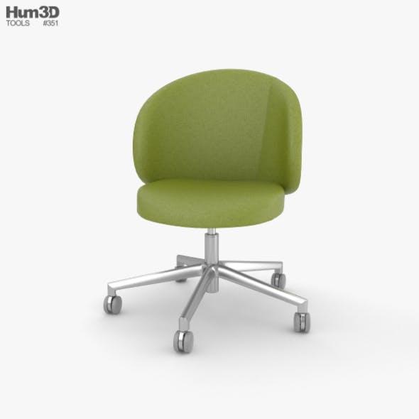 Eurosit Visitors Chair - 3DOcean Item for Sale