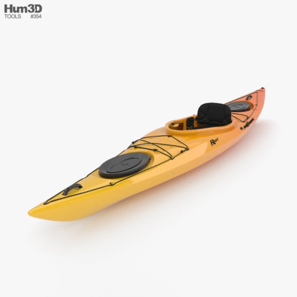 Kayak - 3DOcean Item for Sale