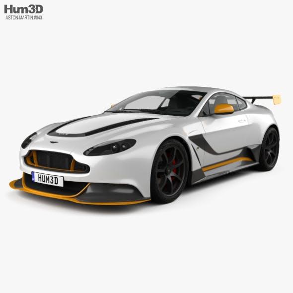 Aston Martin V12 Vantage GT3 2015 - 3DOcean Item for Sale