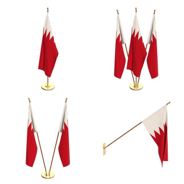 Bahrain Flag Pack - 3DOcean Item for Sale