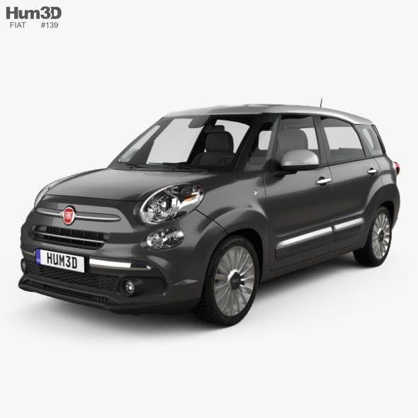 Fiat 500L Wagon 2017 - 3DOcean Item for Sale