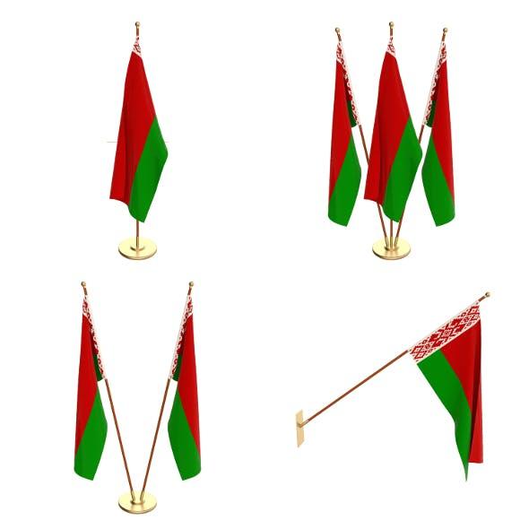 Belarus Flag Pack - 3DOcean Item for Sale