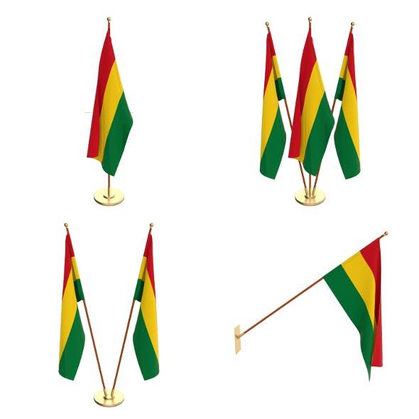 Bolivia Flag Pack - 3DOcean Item for Sale