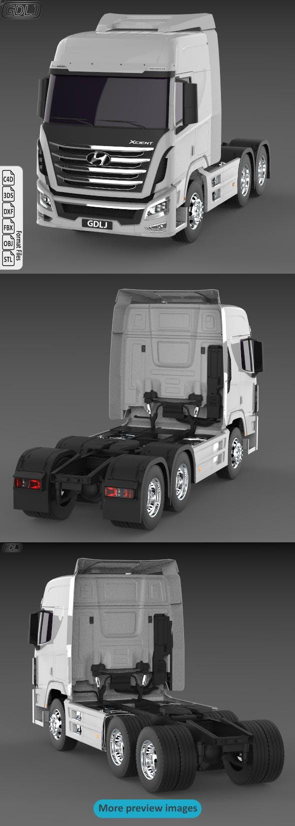 Hyundai Xcient - 3DOcean Item for Sale
