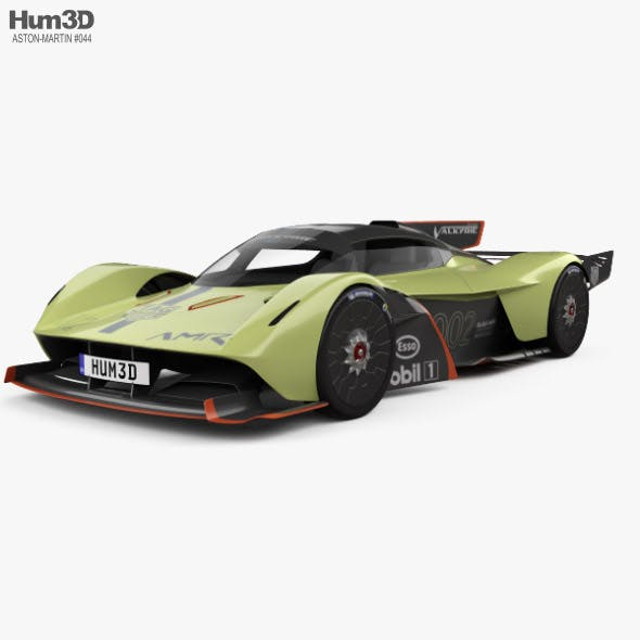 Aston Martin Valkyrie AMR Pro 2020 - 3DOcean Item for Sale