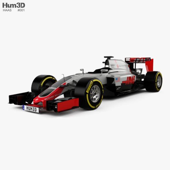 Haas VF-16 F1 2016 - 3DOcean Item for Sale