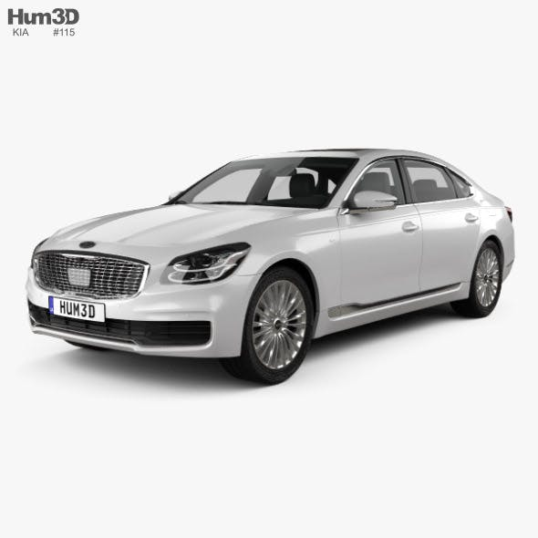 Kia K900 2019 - 3DOcean Item for Sale