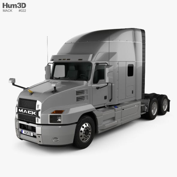 Mack Anthem StandUp Sleeper Cab Tractor Truck 2018 - 3DOcean Item for Sale