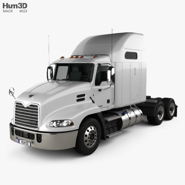 Mack Vision CX613 Sleeper Cab Tractor Truck 2011