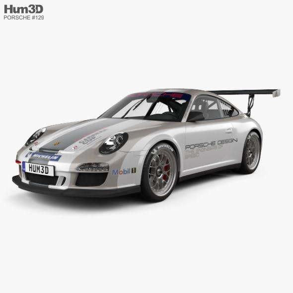 Porsche 911 Carrera GT3 Cup Car 2010 - 3DOcean Item for Sale