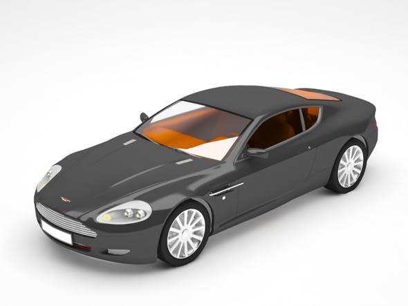 Aston martin - 3DOcean Item for Sale