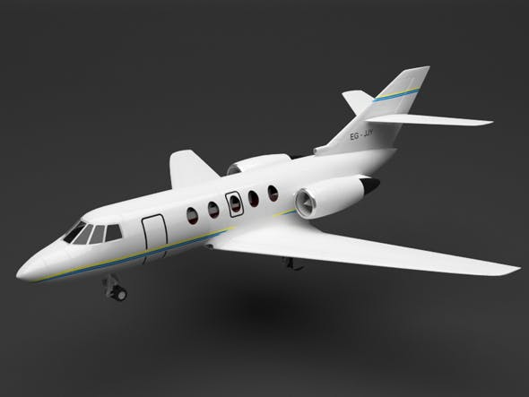 private plane - 3DOcean Item for Sale