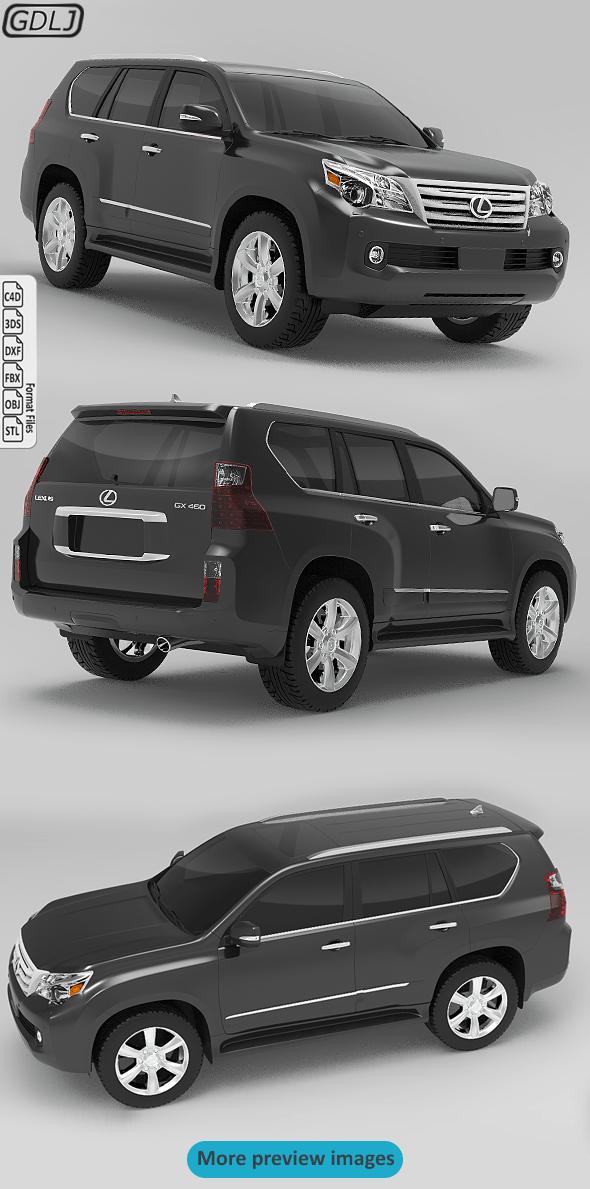 Lexus GX460 2010 - 3DOcean Item for Sale