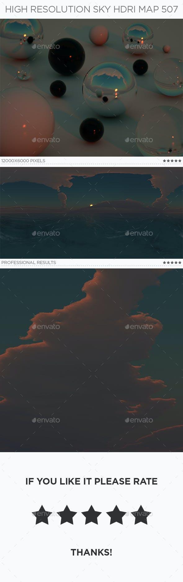 High Resolution Sky HDRi Map 507 - 3DOcean Item for Sale
