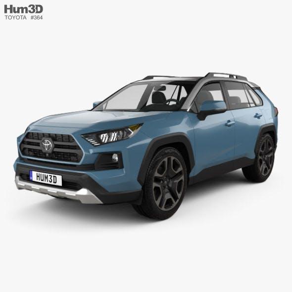 Toyota RAV4 Adventure 2018 - 3DOcean Item for Sale
