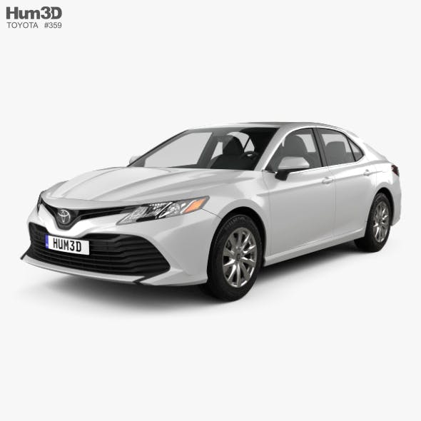 Toyota Camry LE 2017 - 3DOcean Item for Sale