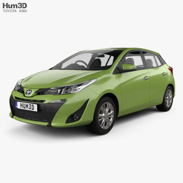 Toyota Yaris TH-spec hatchback 2018 - 3DOcean Item for Sale