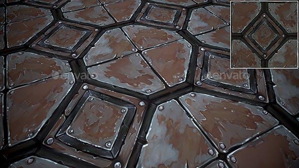 Metal Floor texture - 3DOcean Item for Sale