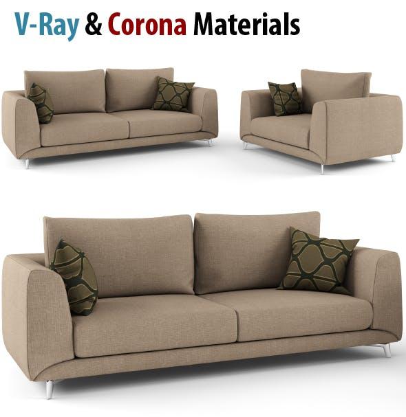 Sofa, High poly  Sofa, Moderne Sofa, Chear - 3DOcean Item for Sale
