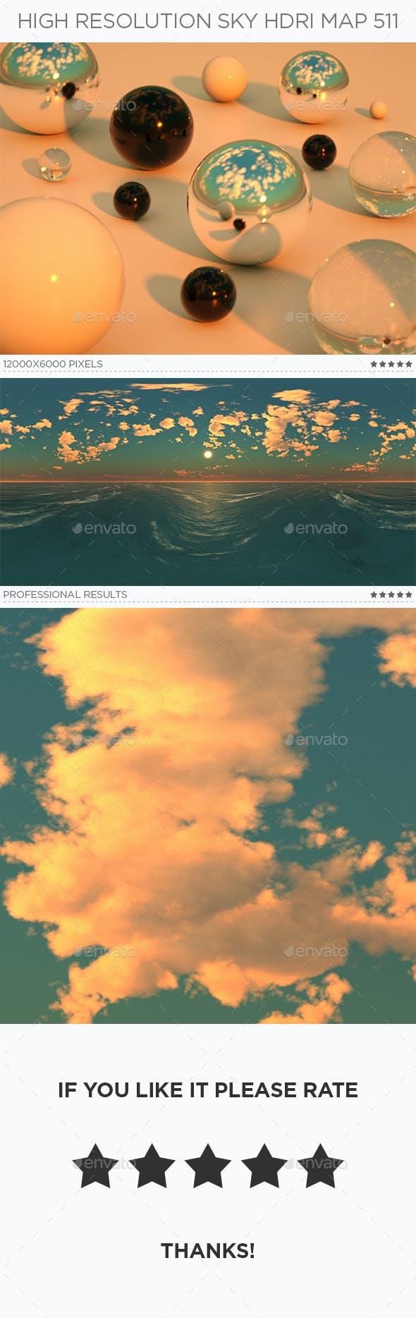 High Resolution Sky HDRi Map 511 - 3DOcean Item for Sale