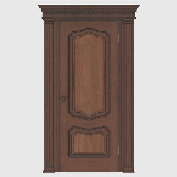 beautiful classic door - 3DOcean Item for Sale