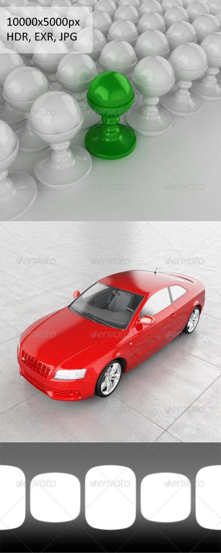 HDRi Studio Light 2 - 3DOcean Item for Sale