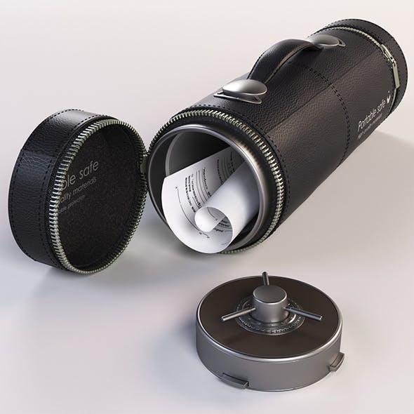 Safe portable - 3DOcean Item for Sale