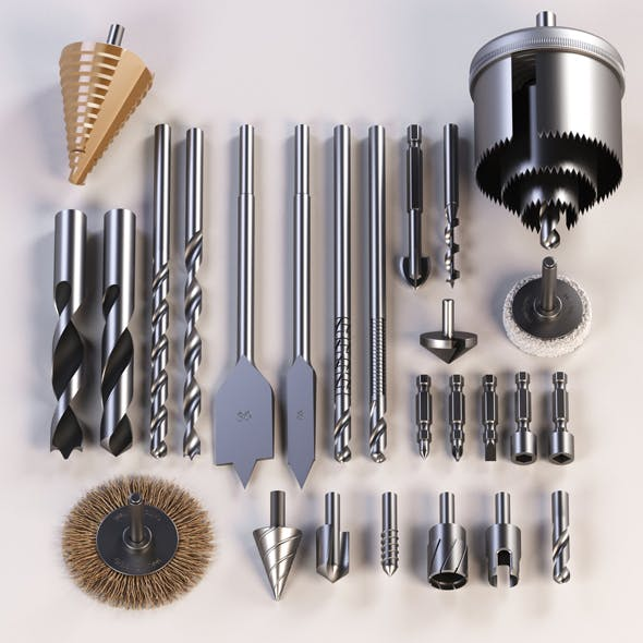 Drills - 3DOcean Item for Sale