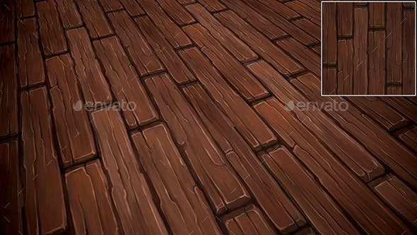 Floor Boards texture - 3DOcean Item for Sale