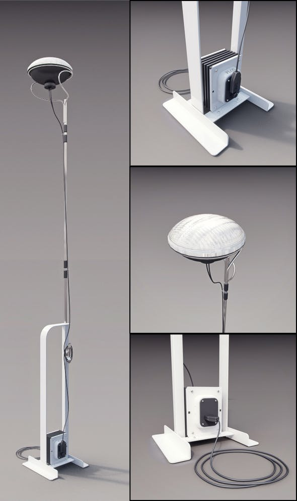 FLOS Toio - 3DOcean Item for Sale