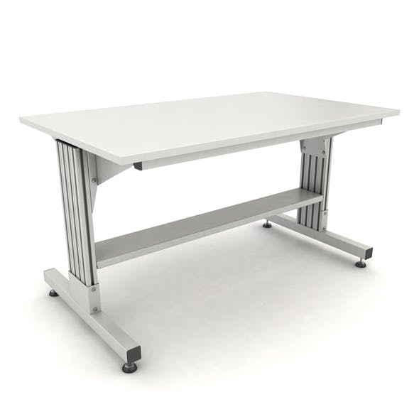 adjustable working table - 3DOcean Item for Sale