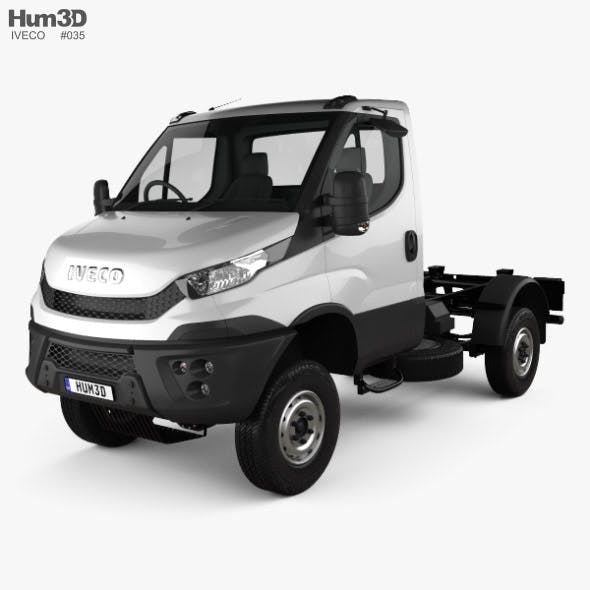 Iveco Daily 4x4 Single Cab Chassis 2017 - 3DOcean Item for Sale